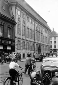 Residence, looking south-west down Bredgade, 1962.