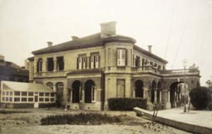 The consul's residence at Shanghai, which faces the offices/court building. It was completed in 1871 by Robert Boyce.