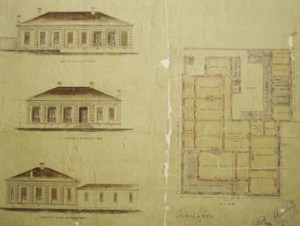 The consul's residence at Chefoo, designed by Boyce in 1870.