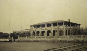 The consul's house and offices at Anping on Taiwan, built by Marshall in 1889.