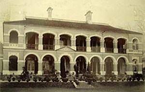 The consul's house and office at Chungking, designed by William Cowan and completed in 1900.