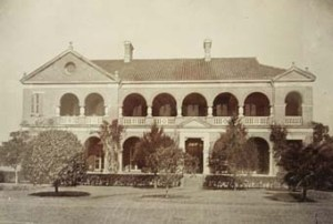 The consul's house and offices at Hangchow, built by Cowan in 1901.