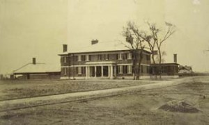 The consul's house and offices at Mukden, built by Simpson in 1910.