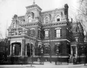The Connecticut Avenue legation, completed 1875, vacated 1930 and demolished 1932.