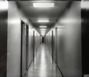 Typical corridor 1960.