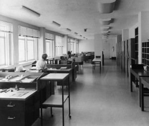 Typical office space, 1960.