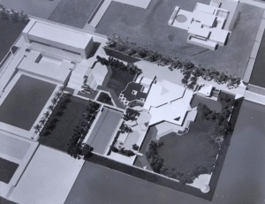 Early model of PSA's compound proposals, 1975.