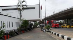 42. Lagos. The Nigerian authorities compulsorily bought the residence so as to ease the route of a motorway.