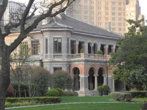 45. Shanghai. The fairly ordinary consular residence of 1870.