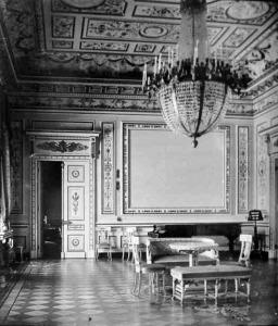 The ballroom, c. 1903.