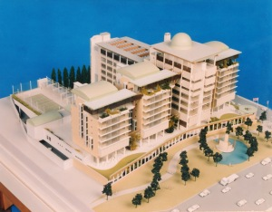 Model from the north-west.