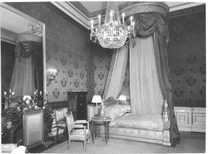 Pauline's lit de parade in Pauline Bedroom 1964.