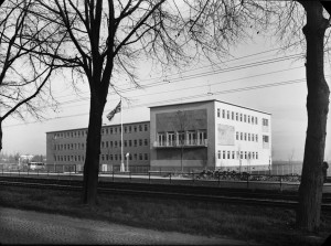 Bonn offices, 1953.