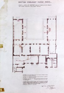 Albano's basement plan, 1852.