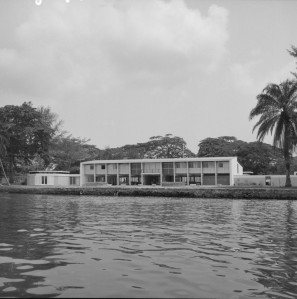 Residence from the Lagoon.