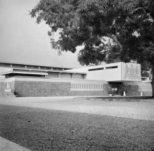 Front entrance, 1960.