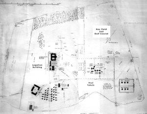 Plan of compound, 1922.
