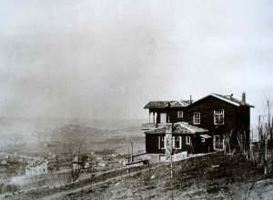 Looking north over Ankara, with Salih Bey';s house in the foreground, 1926.