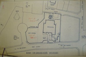 Residence location plan, 19??.