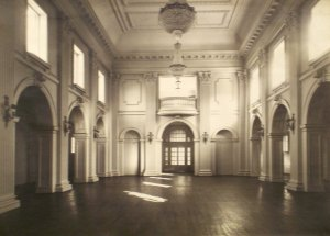 Ballroom interior, ? date.