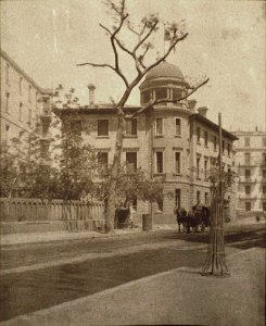 Consulate-general building, c. 1910.