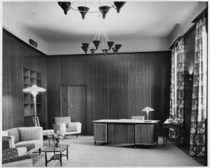 Ambassador's office, 1956.