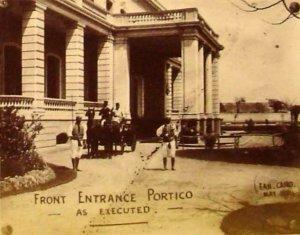 Entrance portico 1894.