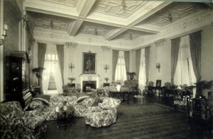 Drawing room, 1920.