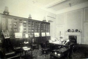 Ambassador's study, 1920
