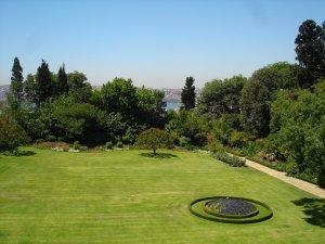 View over garden, 2005.