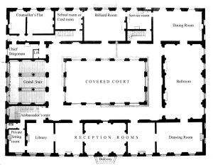 Principal (first) floor plan.