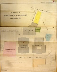 Plan of consular buildings, 1858.