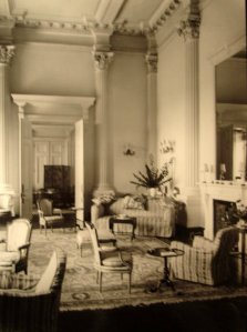 Ambassador's drawing room, 1924.