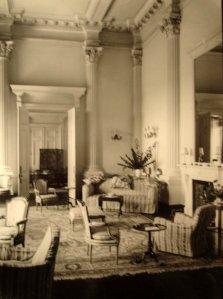 Ambassador's drawing room, 1924.