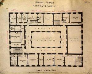 Second (bedroom) floor plan.