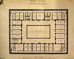 Attic (third) floor plan.