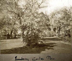 Embassy garden 1905.
