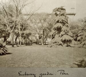 Embassy garden, 1905.