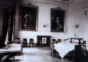 Dining room, 1925.