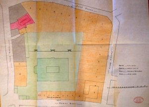 1922 proposal to divide Pera grounds into Lots for sale.