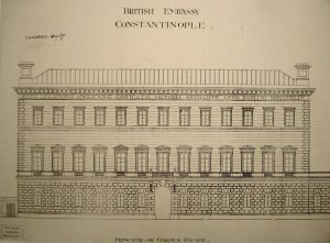 Garden elevation drawing (1906).