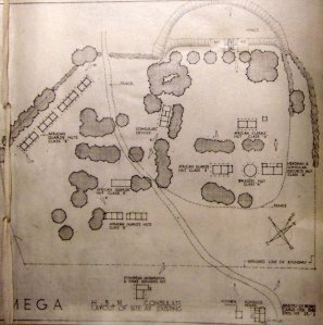 Ministry of Works (Cairo office)  drawing of exisitng compound, 1949.