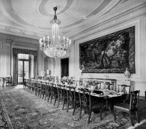 Dining room, 1950.