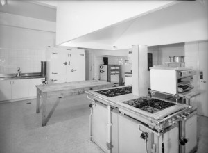 Kitchen, 1950.