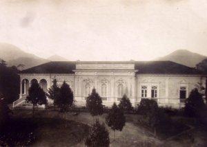 Summer residence principal facade, 1950.