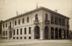 Completed consulate building, c. 1910.