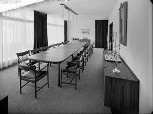 Dining room, 1966.
