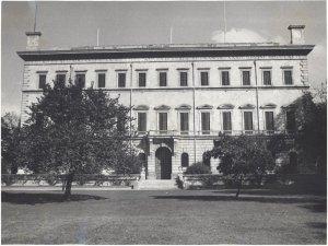The garden front, 1920s.