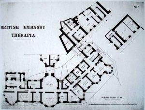 Ground floor plan, 1906.