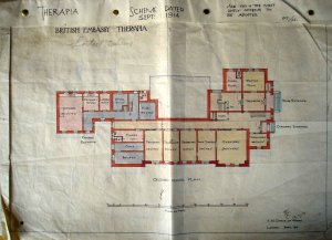 Proposed ground floor plan.